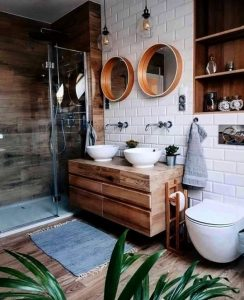 Bathroom look (credit Pinterest)